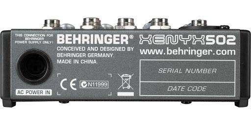 Consola Behringer Xenyx 502 - 1