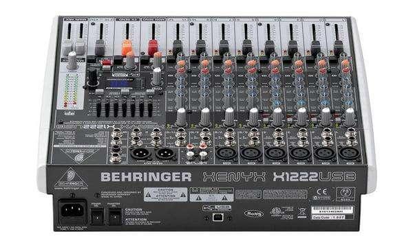 Consola Behringer Xenyx X1222USB - 2