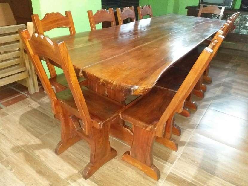 Mesa de lapacho macisa y amplia - 4