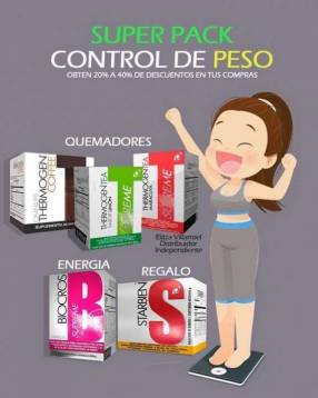 Pack para perder peso