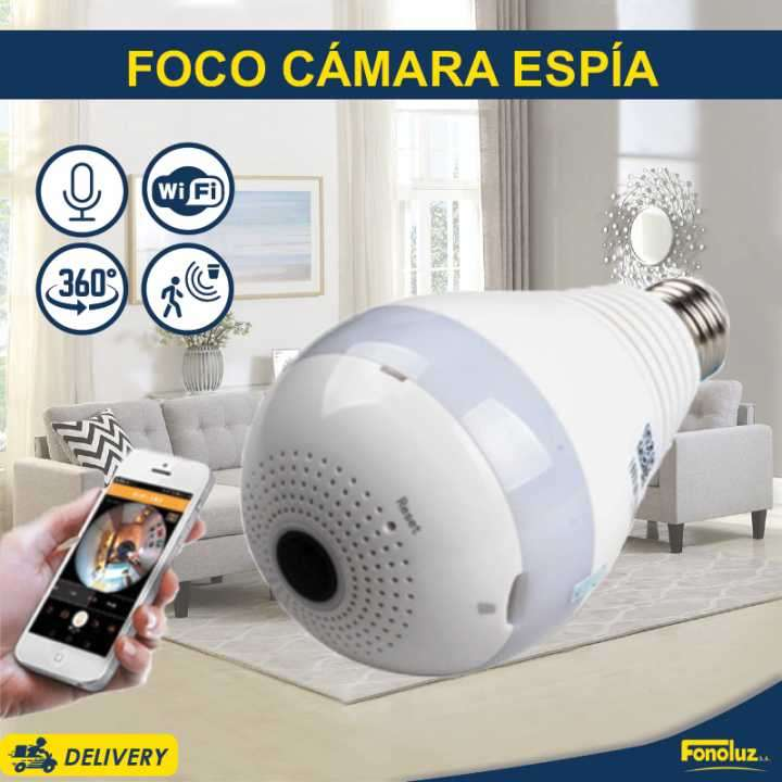 Cámara tipo foco LED - 0