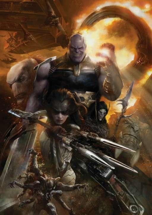 Hasbro Marvel Legends Children of Thanos Black Order - 1