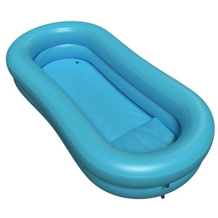 Bañera inflable para bañar a tu paciente - 0