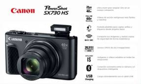 Cámara Canon PowerShot SX730 HS