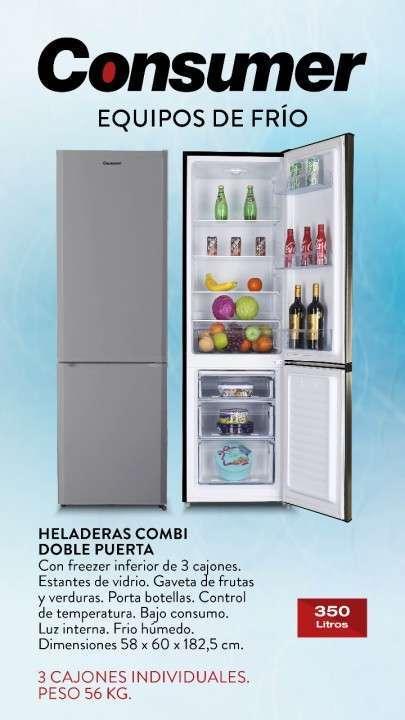Heladera Combi doble puerta - 0