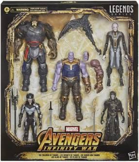 Hasbro Marvel Legends Children of Thanos Black Order