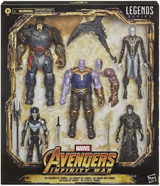 Hasbro Marvel Legends Children of Thanos Black Order - 0