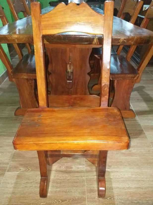 Mesa de lapacho macisa y amplia - 3