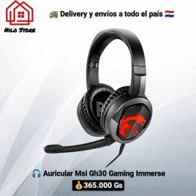 Auricular Gamer MSI gh30 immerse