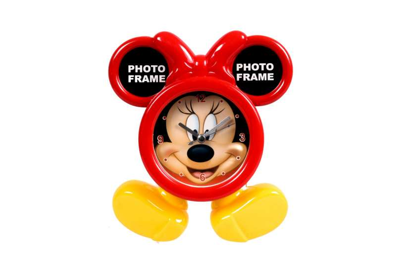 Reloj con Portarretrato con Diseño de Minnie Mouse - 1