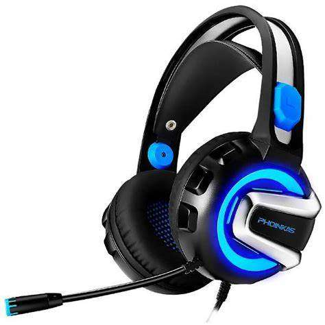 Auricular satellite phoinikas h1 azul gaming