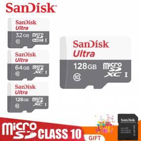Memoria micro sd 128gb sandisk ultra 80mb/s c10