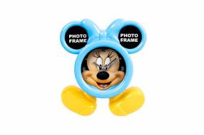 Reloj con Portarretrato con Diseño de Minnie Mouse