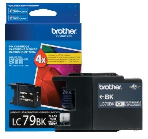 Cartucho brother lc79bk black 2400 paginas - 0