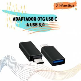 Adaptador USB C a USB 3.0 OTG tipo C a conector USB hembra