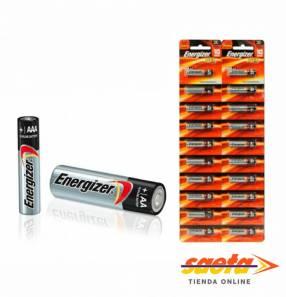 Pila alcalina Energizer AA Tira de 10 pilas E91-BP10