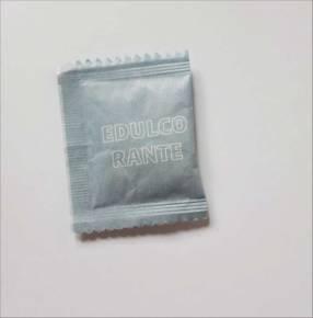 Edulcorante sucralosa en sobres de 1 gramo