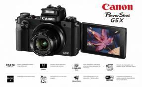 Cámara Canon PowerShot G5X