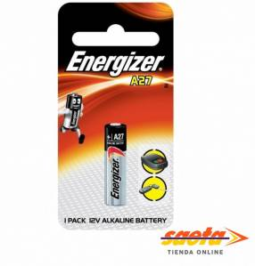 Pila alcalina Energizer A27-BP1