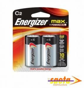 Pila alcalina Energizer C mediana E93-BP2