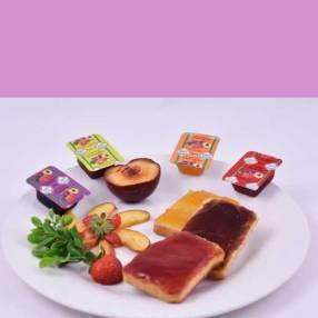 Mermeladas en porciones individuales 20 gramos