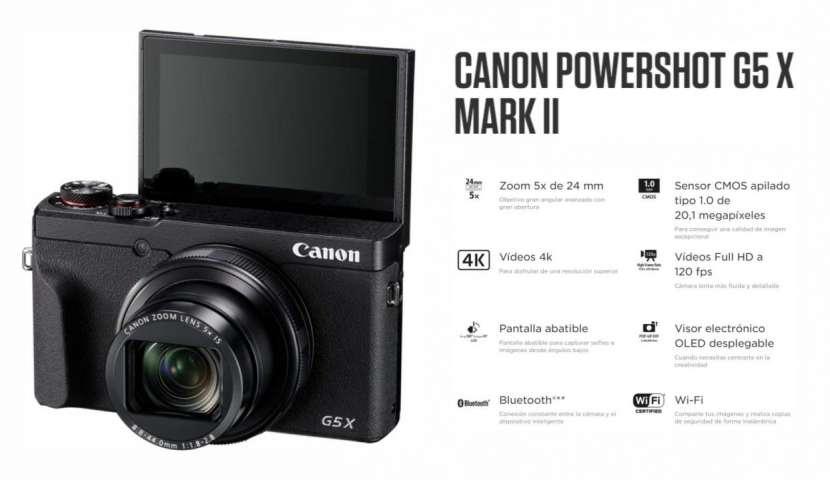 Cámara Canon PowerShot G5X Mark II - 0
