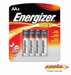 Pila alcalina Energizer AA pequeña E91-BP4