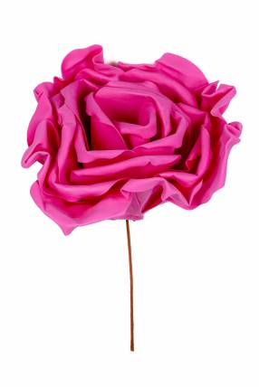 Rosa artificial pinky 55 cm