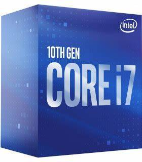 Cpu intel i7-10700f 2.9ghz 16mb lga1200 10ma gen.