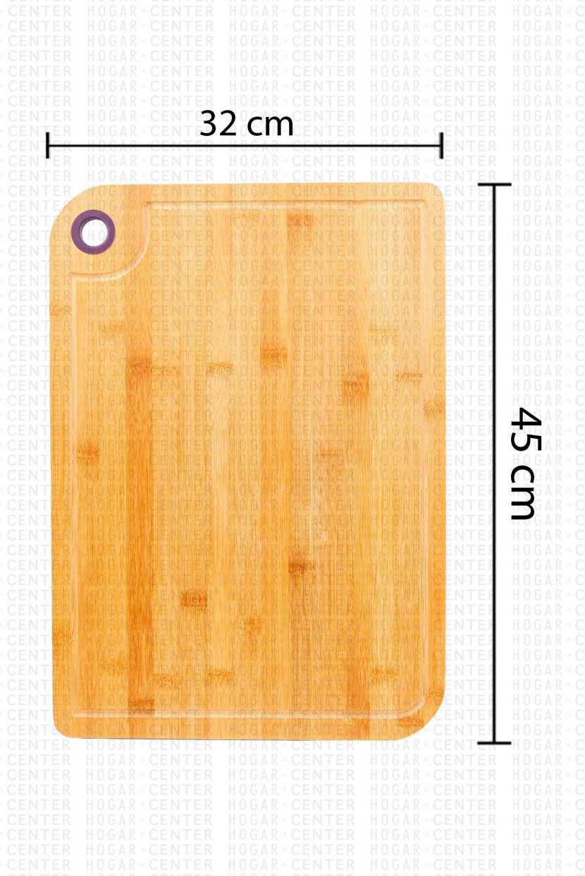 Tabla de Picar de Bambú - 1