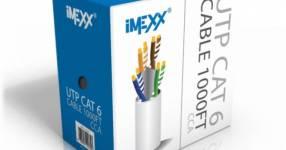 Cable utp cat6 imexx (11340)