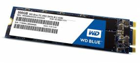 Hd ssd m.2 500gb western digital wds500g2b0b blue