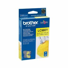 Cartucho brother lc980y yellow p/dcp-165/mfc290