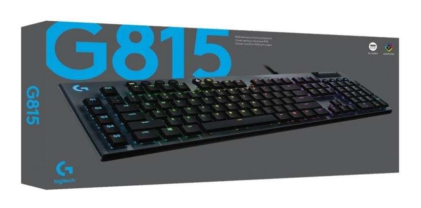 Teclado logitech g815 rgb mecanico 920-008984