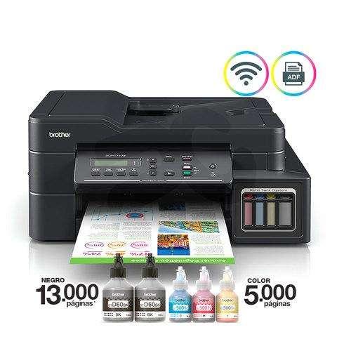 Impresora brother dcp-t710w wireless adf oficio