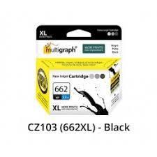 Cartucho multigraph 662 xl negro 20ml