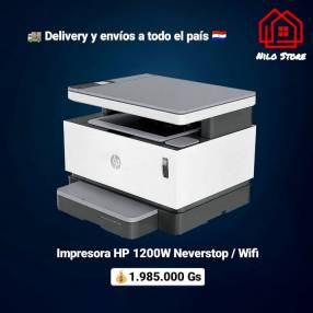 Impresora multifunción hp 1200w never stop wifi