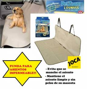 Funda impermeable para asiento