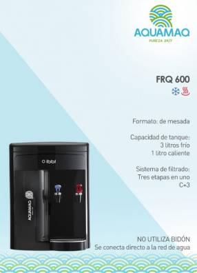 Bebedero de mesa a red de agua Aquamaq FRQ 600