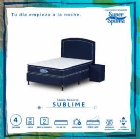 Sommier Sublime SuperSpuma 80 kilos 100x190 cm