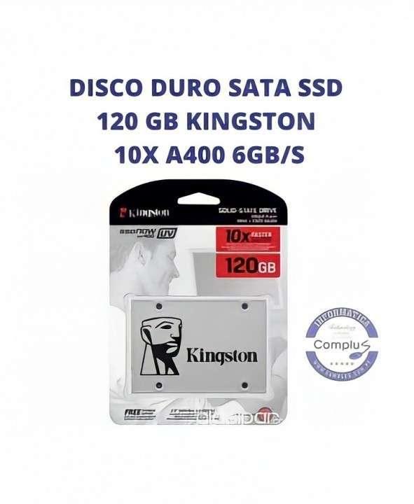 Disco duro sata ssd Kingston 120 gb - 0