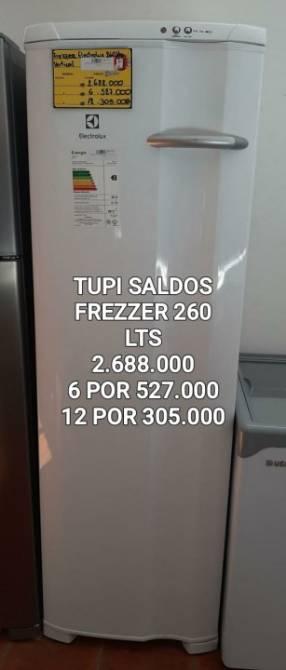 Freezer Electrolux vertical 260 lts