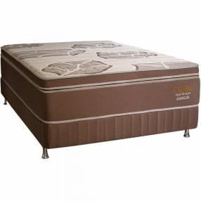 Base y colchón sommier Sueñolar Trimax 160x200 cm 120 kilos