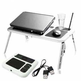 Mesa portátil para notebook con cooler