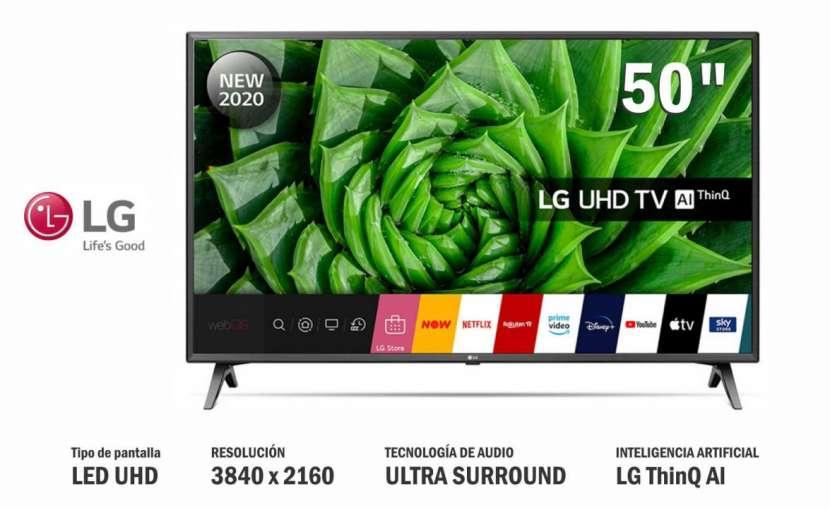 Televisor smart led 4K LG 50 pulgadas - 0