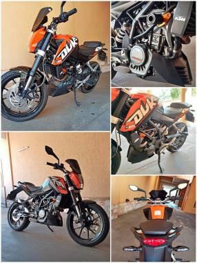 Moto KTM Duke 2016