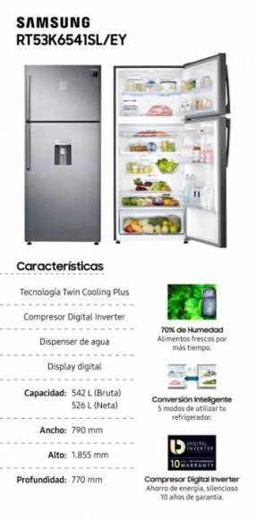 Freezer Superior Twin Cooling Plus 526L