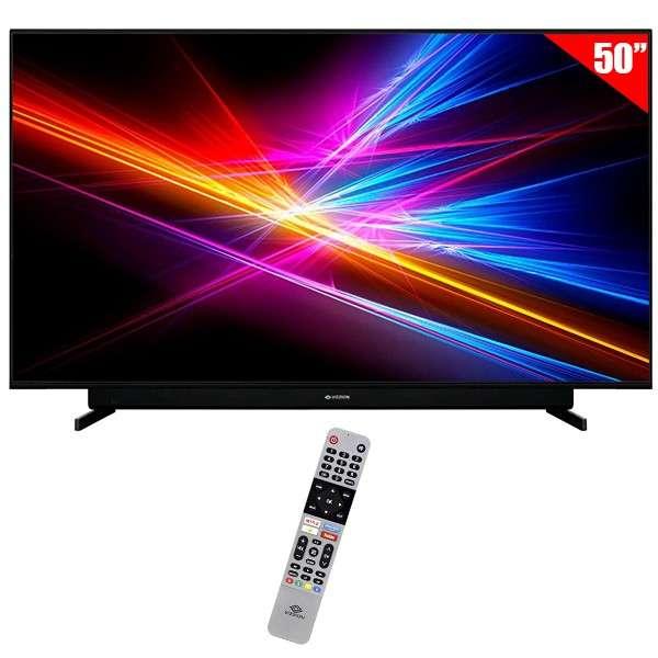 Smart tv led Vizzion 50 pulgadas 4K ultra HD wifi hdmi - 0