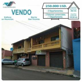 Edificio en Asunción Barrio San Vicente