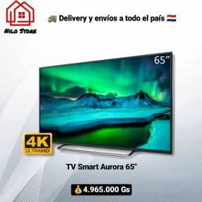TV Smart Aurora 65 pulgadas AU65F7 4K UHD